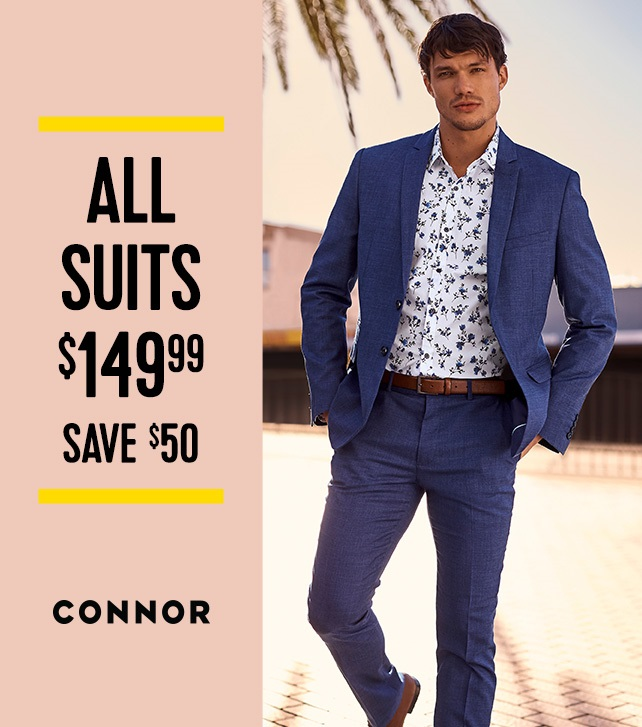 Connor Suit Sale